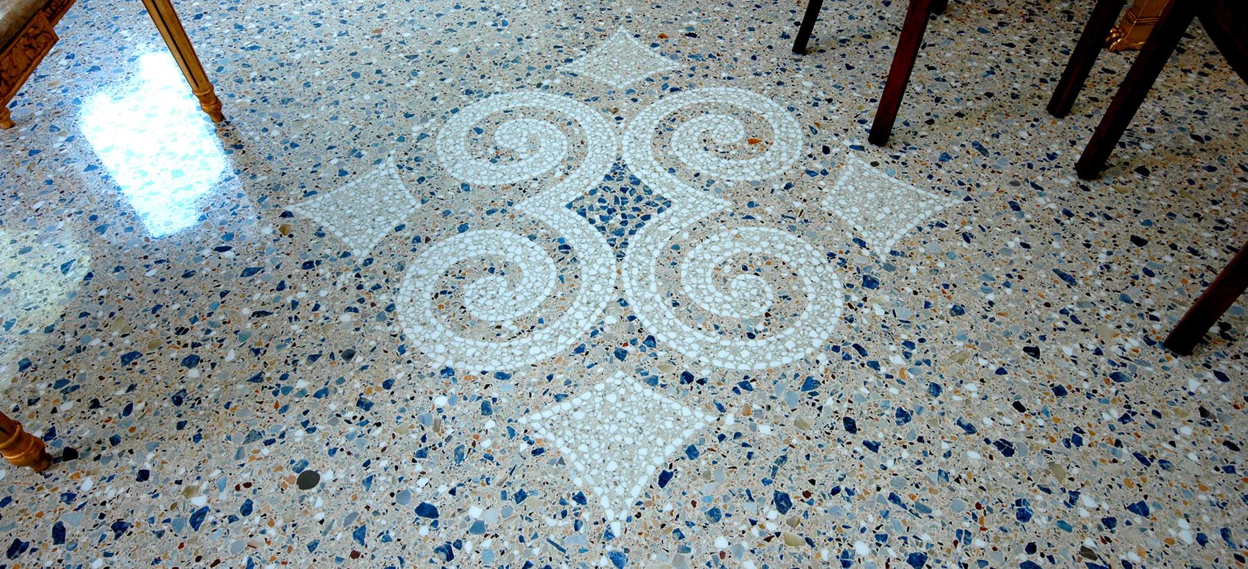 Pavimento In Terrazzo Alla Veneziana restauro pavimento alla veneziana | lucidatura pavimento